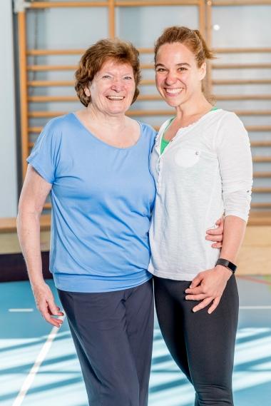 Rita Brönnimann und Lidija Jovic